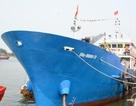 """Bàn giao tàu vỏ thép hậu cần nghề cá """"khủng"""" nhất Việt Nam"""