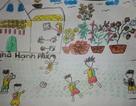 Những bức tranh nhỏ và những ước mơ lớn của trẻ em Việt
