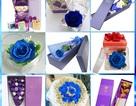 Thị trường quà tặng: Hoa hồng vĩnh cửu lấn át hoa tươi