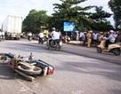 Container đâm xe máy, 1 người tử vong