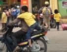 Xử phạt hành vi không đội MBH cho trẻ em đi xe máy, xe đạp điện