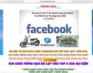 Báo động lừa đảo trúng xe, thưởng tiền trên Facebook