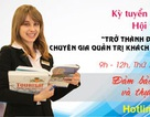 Con đường khởi nghiệp ngành Quản trị Khách sạn và Đầu bếp chuyên nghiệp