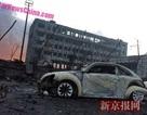Hàng nghìn ôtô mới bị thiêu rụi tại Thiên Tân