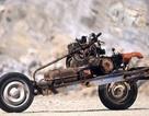 Thoát chết nhờ biến ôtô thành xe máy