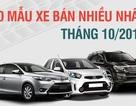 Top 10 mẫu xe bán chạy nhất Việt Nam tháng 10/2016