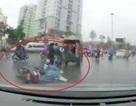 Hà Nội trời mưa và lạnh: Cần cẩn trọng hơn khi ra đường