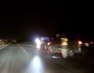 Liều mạng bỏ chạy cảnh sát, tài xế gây va chạm trên đường