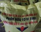 Bắt quả tang một cơ sở sản xuất phân bón trái phép