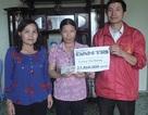 Bạn đọc Dân trí giúp đỡ hơn 23 triệu đồng đến chị Lương Thị Hương