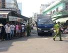 Xe tải mất lái tông chết 2 người