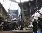 Khu nhà xưởng rộng 1.000 m2 đổ sập sau vụ cháy