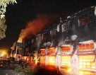 Công ty Việt Nam SamHo bốc cháy ngùn ngụt suốt đêm