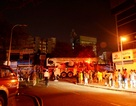 Cháy chung cư, hàng trăm người hốt hoảng tháo chạy trong đêm