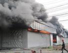 Cháy lớn tại xưởng bông rộng cả ngàn mét vuông