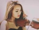 Cô gái xinh đẹp hơn nhờ kéo đàn Violon