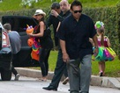 Gia đình Beckham tưng bừng dự tiệc Halloween