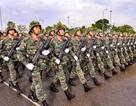Lực lượng diễu binh hùng hậu tập luyện trước ngày Quốc khánh