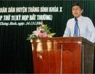 Quảng Nam bỏ qua quy định cao nhất bổ nhiệm cán bộ?