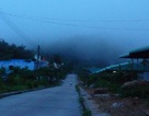 Sương mù bức xạ bao phủ khắp vùng núi phía Bắc