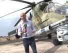 """Cận cảnh """"xe tăng bay"""" bảo vệ căn cứ không quân Nga tại Syria"""