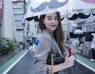 Hồ Ngọc Hà thanh lịch trên đường phố Nhật Bản