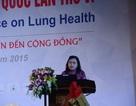 Kiểm soát các bệnh hô hấp: Từ bệnh viện đến cộng đồng