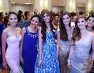 Hoa hậu Thế giới khoe sắc trong tiệc từ thiện