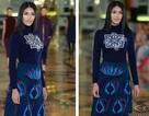 Ngắm Lan Khuê trình diễn thời trang tại Hoa hậu Thế giới