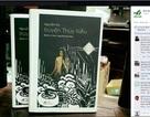 """Cộng đồng mạng tranh cãi về bìa sách Truyện Kiều in hình """"nhạy cảm"""""""