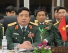 Đại tướng Phùng Quang Thanh đến cơ quan sau khi về Hà Nội