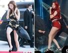 Ngắm chân thon nuột được mua bảo hiểm của ca sỹ xứ Hàn