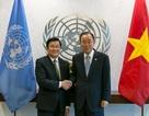 Chủ tịch nước Trương Tấn Sang hội kiến Tổng Thư ký Liên hợp quốc