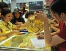 Vàng trong nước tăng chậm, chênh lệch thu hẹp