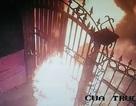 Hà Nội: Camera bắt quả tang hung thủ đổ xăng đốt nhà tổ trưởng tổ dân phố trong đêm