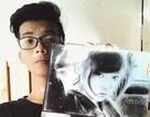 Nam sinh 16 tuổi có tài vẽ tranh 3D sống động