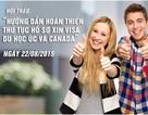 Hướng dẫn hoàn thiện hồ sơ Visa du học Úc, Canada cho DHS Việt và người thân