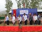 Khởi công xây dựng công trình 5 phòng học Dân trí tại Trường THCS Chiềng Sơ