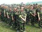 Học sinh được đào tạo kĩ năng tối thiểu của chiến sĩ bộ binh