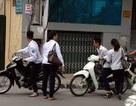 Hà Nội: Công khai tên học sinh vi phạm giao thông
