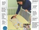 Lựa chọn tư thế nằm để giảm nguy cơ đột tử ở trẻ