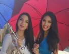 Lan Khuê đã tới Trung Quốc dự thi hoa hậu thế giới