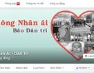 Báo Dân trí ra mắt Fanpage Nhân ái trên Facebook