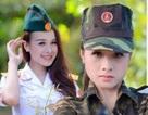 Vẻ đẹp ngọt ngào của nữ phát thanh viên quân đội