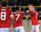 """Rooney lập hat-trick, Man Utd thắng """"bốn sao"""" trước Club Brugge"""