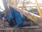 Hải Phòng: Cần cẩu đổ sập đè chết 1 người, 2 người bị thương