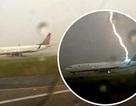 Boeing chở 117 người bị sét đánh trúng đuôi khi chờ cất cánh