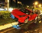 Siêu xe Ferrari 15 tỉ gặp nạn ở Sài Gòn