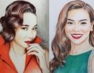 8X vẽ chân dung 300 nghệ sĩ Việt và Kpop