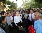 Tổng Bí thư Nguyễn Phú Trọng về Đan Phượng dự Ngày hội Đại đoàn kết toàn dân tộc